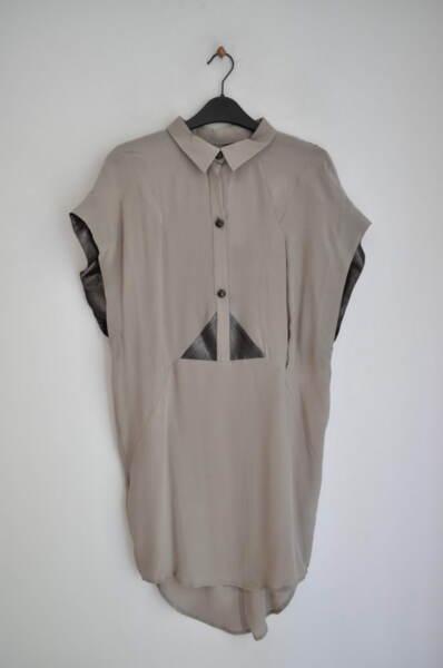 Дамска рокля/туника с А симетрична долна част