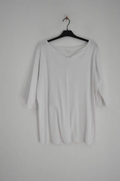 Памучна бяла блуза (второ качесво)