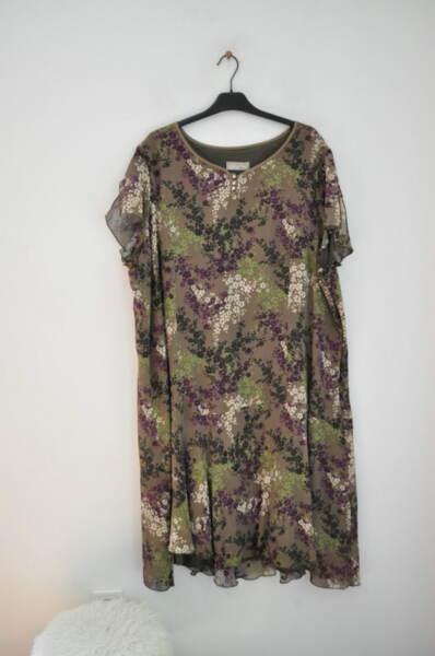 Дамска рокля на цветя (второ качество)