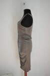 Дамска рокля с лъскави елементи (второ качество)