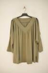 Дамска блуза с ефектни ръкави (второ качество)