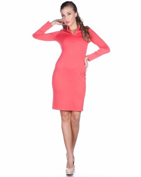 Дамска рокля с втален силует (второ качество)