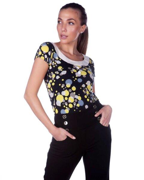 Дамска блуза от трико (второ качество)