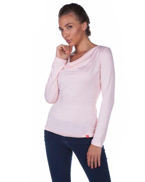 Дамска блуза в розово (второ качество)