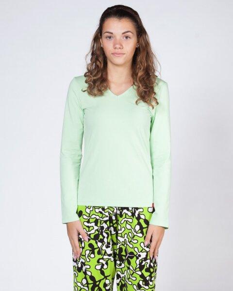 Дамска памучна пижама - горнище (второ качество)