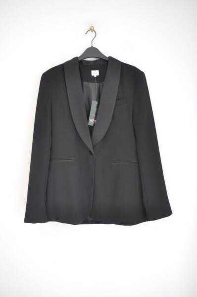 Елегантно дамско сако в черно (второ качество)