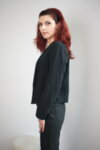 Дамско сако без закопчаване (второ качество)