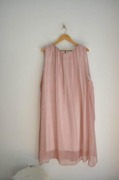 Раирана дамска рокля в свободен силует