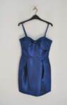 Официална дамска рокля с тънки презрамки