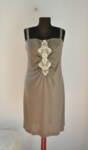 Дамска рокля с ефектна предна част (второ качество)