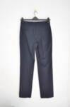 Тъмносин дамски панталон с джобове с филетка (второ качество)