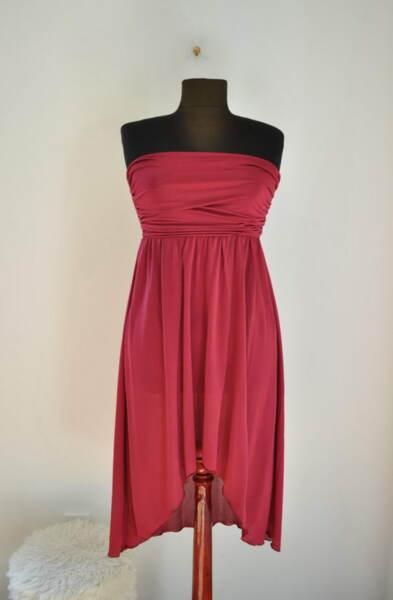 А симетрична дамска рокля (второ качество)