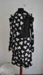 Екстравагантна дамска рокля с дълъг ръкав (второ качество)