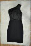 Дамска рокля с асиметрична презрамка