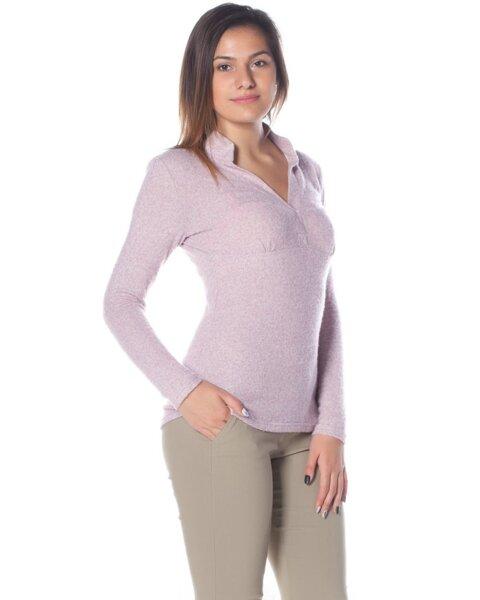 Дамска блуза от меко плетиво Aiva