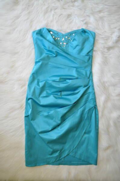 Официална дамска рокля с втален силует