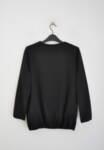 Черна дамска блуза с ефектно деколте