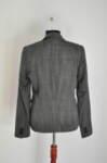 Вталено дамско сако с ревер яка