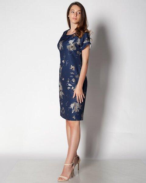 Дамска рокля в лек полувтален силует (второ качество)