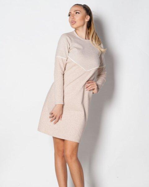 Share - дамска рокля в удобен А силует с реглан ръкав