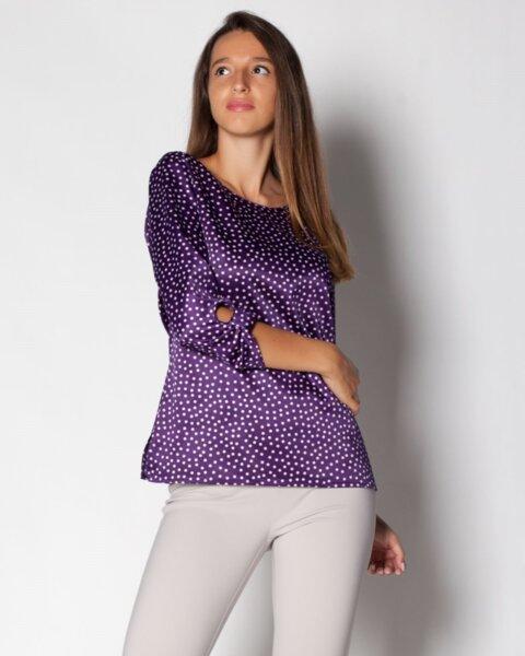 Tamira - стилна дамска блуза в прав силует (второ качество)