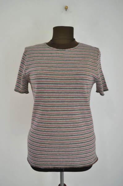 Дамска блуза на цветни райета