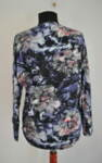 Дамска блуза в свободен силует и прилеп ръкав