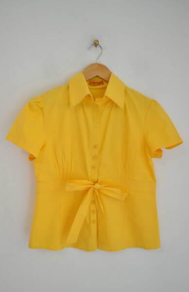 Дамска риза с панделка (второ качество)