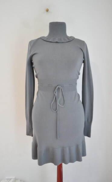 Дамска рокля с поло яка (второ качество)