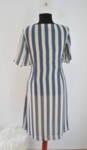 Дамска пола на сини-бежови райета (второ качество)