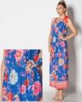 Sweet charming - дълга лятна рокля в свободен силует с регулируема презрамка