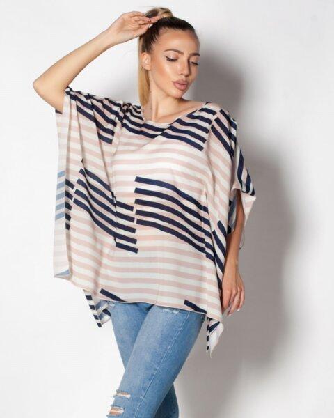 Parea - ефирна лятна блуза/туника в прав силует