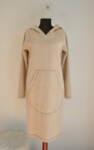 Africa - дамска рокля в свободен силует с голяма качулка и външен джоб