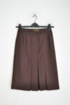 Дамска пола с плохи и миди дължина