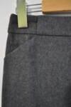 Вълнена дамска пола с джобове