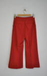 Дамски панталон с 7/8 дължина и широк крачол (второ качество)