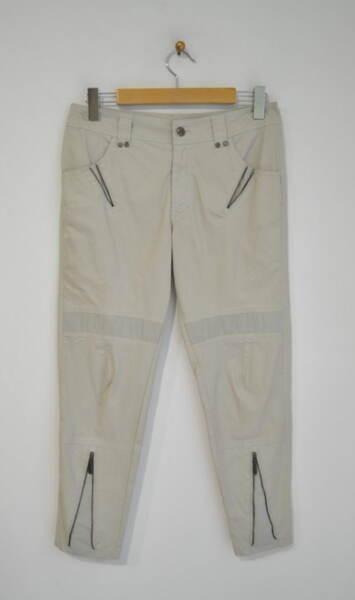 Дамски панталон с декоративни ципове (второ качество)