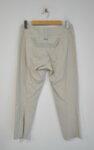 Дамски панталон с декоративни ципове - бежов (второ качество)
