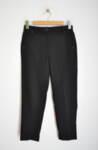 Черен дамски панталон с малки капси (второ качество)