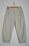 Дамски панталон с джобове с цип - светлобежов (второ качество)