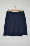 Плисирана дамска пола с миди дължина