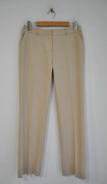 Дамски панталон с ръб и широк крачол (второ качество)