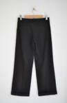 Дамски панталон с широк крачол и маншет (второ качество)