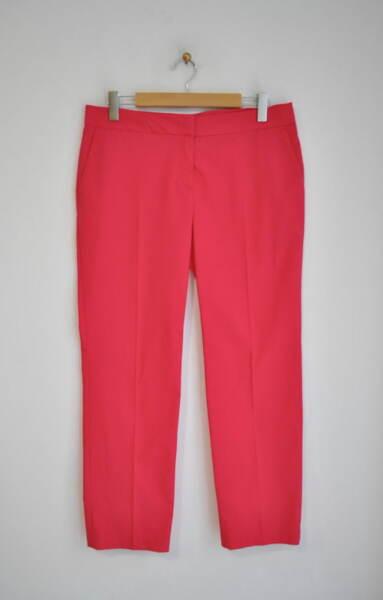 Дамски панталон в прав силует - циклама (второ качество)