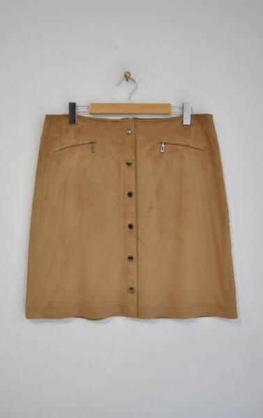 Велурена дамска пола (второ качество)