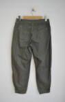 Зелен дамски панталон с контрастен шев (второ качество)