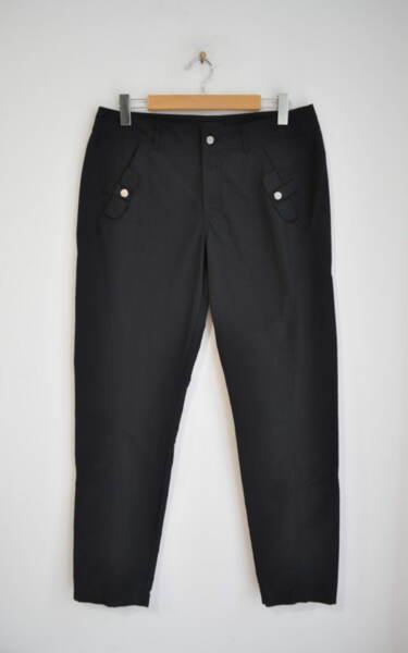 Спортен дамски панталон - черен