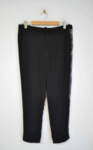 Дамски панталон с дантела в страни
