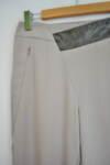 Дамски панталон с асиметрична предна част (второ качество)