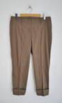 Дамски панталон с вечен ръб и маншет
